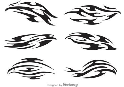 Hawk Tribal Logo Vectors Download Free Vector Art Stock Tribal Graphics Vector