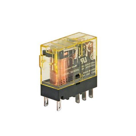 Relay Idec Tipe Rj2s Cl D24 6a rj2s cld d24 idec rj gp relay dpdt 8a dc24v coil led diode