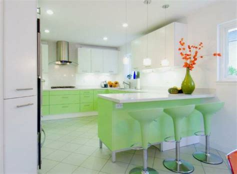 Favorite Designer Mint personal kitchen design