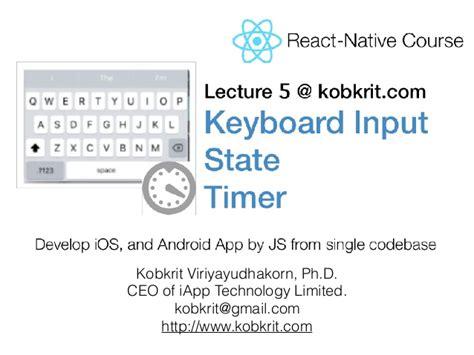 react native tutorial español react native tutorial lecture 5 input and state