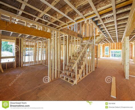 house construction royalty free stock images image 2957369 interior new house framing royalty free stock photos