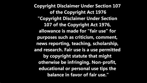 copyright disclaimer under section 107 of the copyright act 1976 copyright disclaimer commonpence co