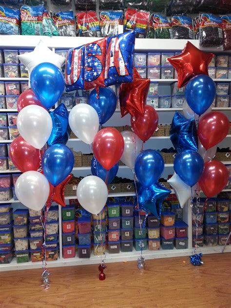 4th Of July Balloon Decorations by 304 Best Images About Balloons Patriotic On