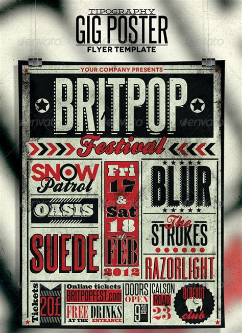 free templates for band posters 160 free and premium psd flyer design templates print