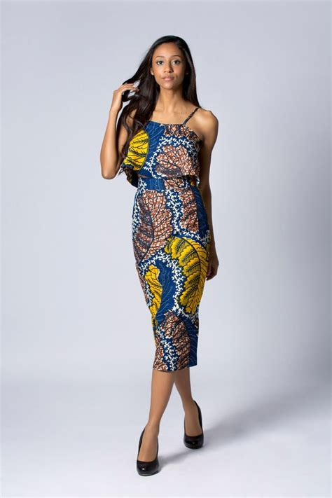 ankara african print halter crop top and high by the in depth beauty of ankara high waist skirts
