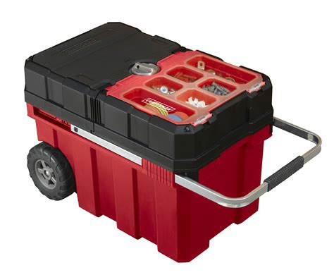 craftsman tool box craftsman 18 gallon mobile tool chest with parts storage