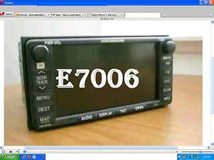 2005 toyota sienna navigation owners manual ebay toyota 2005 sienna gps dvd nav navigation radio cd jbl e7006 am fm