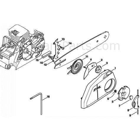 stihl ms180c parts diagram stihl ms 180 chainsaw ms180c bz parts diagram