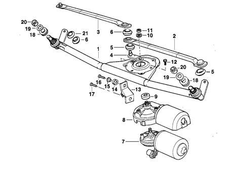 e46 wiper motor diagram repair wiring scheme