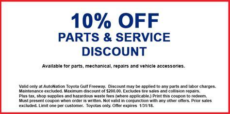 Toyota Parts Discount Toyota Parts Discounters Gordmans Coupon Code