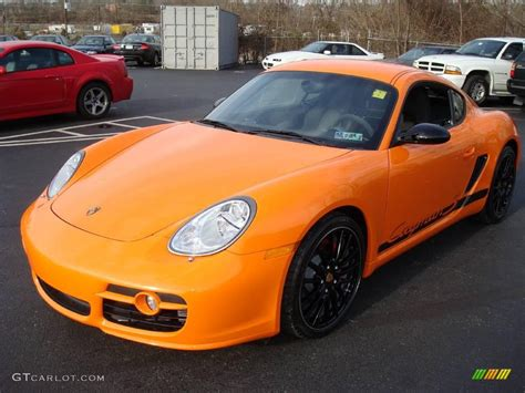 porsche cayman orange 2008 orange porsche cayman s sport 7689606 photo 9