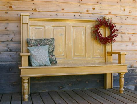 benches made from old doors use a old door for this project and make a bench for