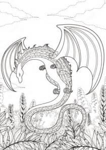 ausmalbild zentangel drachen ausmalbilder kostenlos zum
