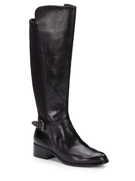 charles by charles david boots lyst charles by charles david quilted panel