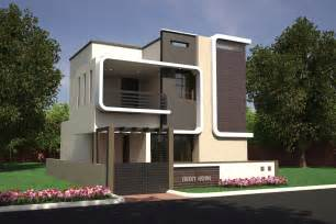 Building Elevation In 12 X40 2 Amp 3 Bhk Residential Villas Dattagalli Mysore One