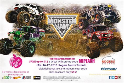 monster jam truck tickets 100 monster jam truck tickets metro pcs presents