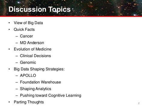Delta Mba Associate Operations Analytics Strategy by Health It Summit 2013 Presentation Quot The Impact Of