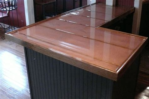 Hammered Copper Bar Top by A Guide To Copper Bar Tops Tables And More