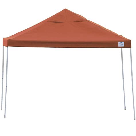 Up Canopy Shelterlogic Backyard Pop Up Canopy 10 X 10 In Canopies