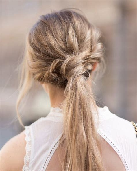 hair long enough for a ponytail twisted ponytail hairstyles for girls who can t style
