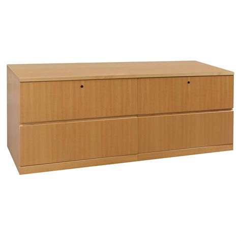 Haworth Credenza haworth veneer used 4 drawer lateral credenza tiger maple national office interiors and