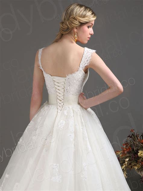 luxury corset wedding dresses
