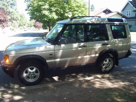 does range rover sport 3rd row sell used land rover 2001 landrovery discovery series ii