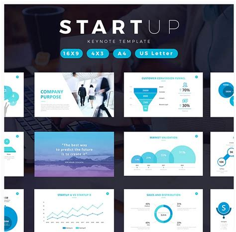 Keynote Presentation Templates For Every Occasion 30 Startup Keynote Template