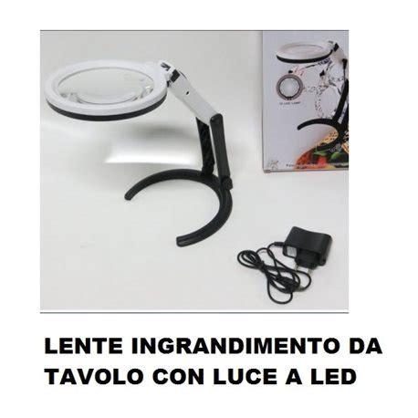 lente da tavolo con luce lente ingrandimento da tavolo idee per la casa