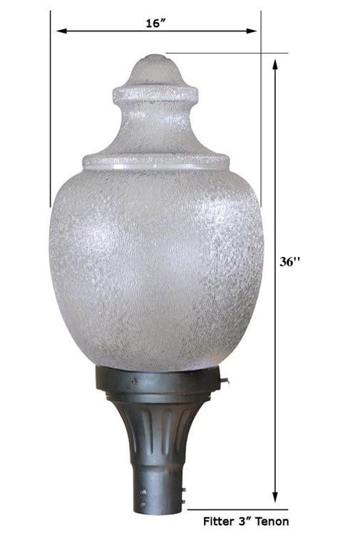 acorn street l globe special lite lighting 26 inch h i d light fixture 26