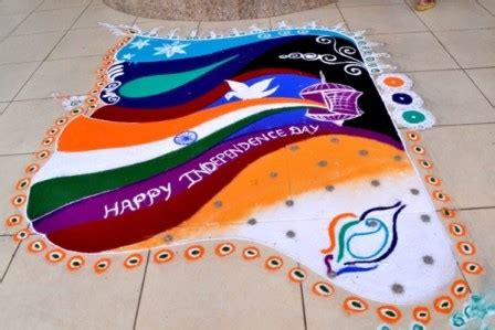 rangoli theme unity in diversity 9 best independence day rangoli designs with pictures