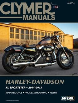 Harley Davidson Sportster Xl883 Xl1200 Service And Repair