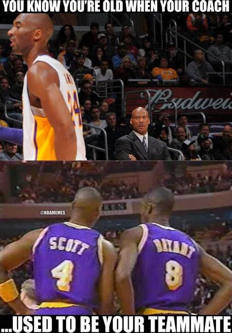 Funny Lakers Memes - here s a little history lesson about byron scott and kobe bryant lakers basketball humor