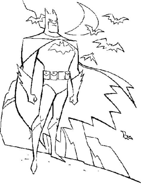 Coloriage Batman 3 Dessin De Batman Avec Sa Batmobile L