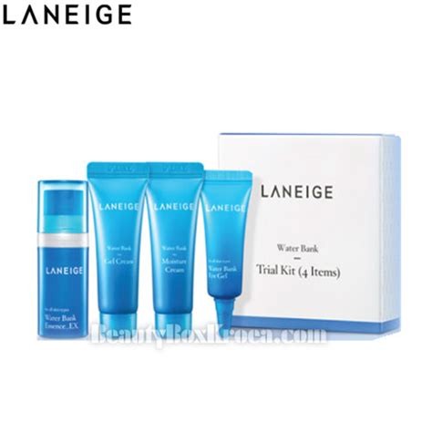Laneige Trial Kit box korea mini laneige water bank trial kit 4