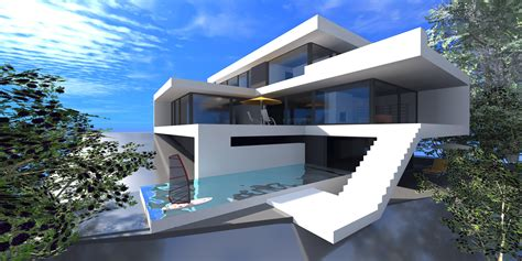 home design concept with beach background photo top modern house in the world most expensive and unique