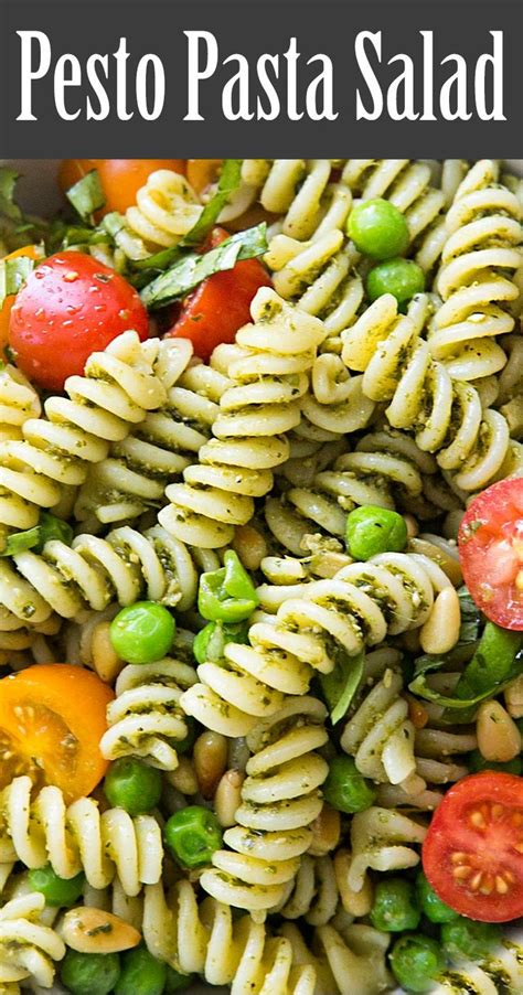 pesto pasta salad recipe best 20 pesto pasta salad ideas on pinterest pesto