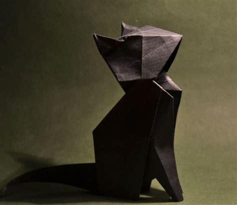Origami Chat - les 17 meilleures id 233 es de la cat 233 gorie chat en origami