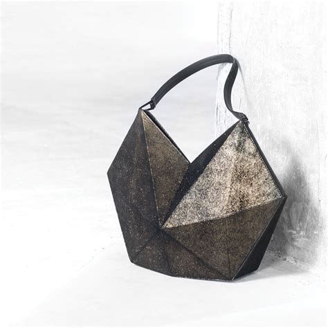 neonscope origami handbags by finell