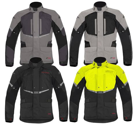 motorcycle touring jacket alpinestars andes drystar waterproof wp armoured touring
