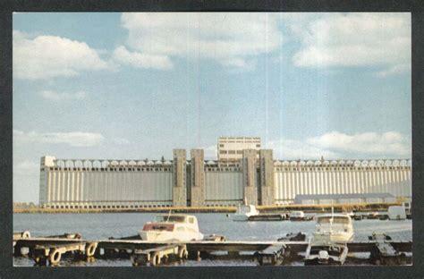 Bor Prescott national harbours board prescott ontario canada postcard 1950s