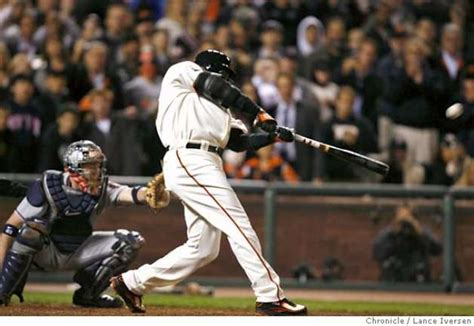 barry bonds swing new king of swing bonds hr to center puts him at the