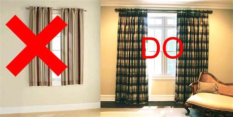 curtain ideas for short windows short drape do don t for the house pinterest window
