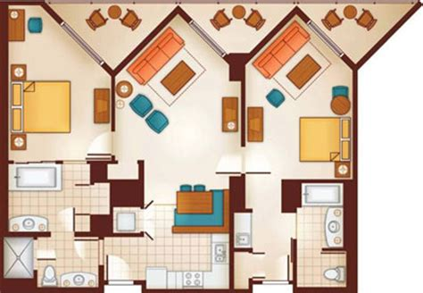 disney vacation club floor plans aulani disney vacation club villas ko olina hawaii