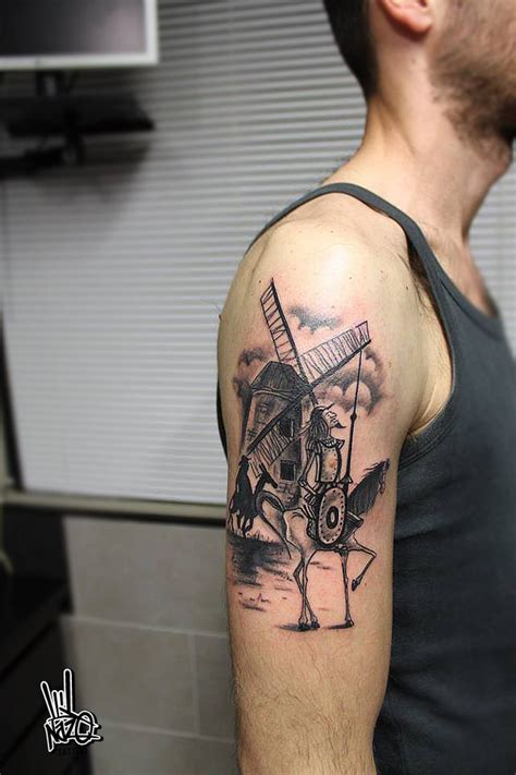don quixote tattoo don quixote tattoos tattoos don