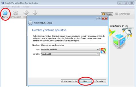 imagenes para virtual box instalar windows en virtualbox cursohacker es