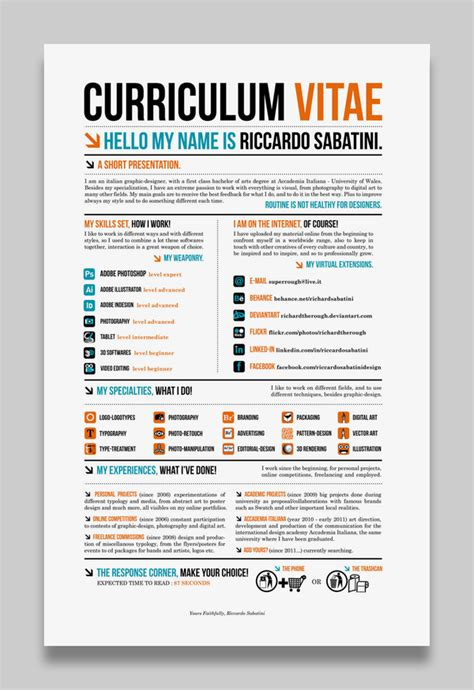 resume layout c 28 amazing exles of cool and creative resumes cv