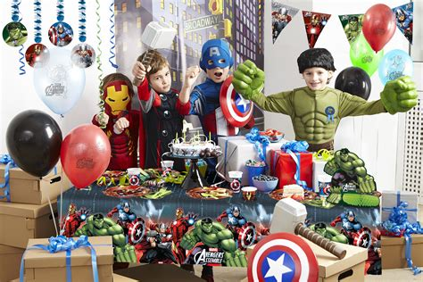Winter Birthday Party Decorations - avengers party inspiration party pieces blog amp inspiration