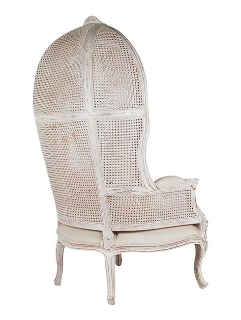 french canopy chair french style cane wingback canopy porters chair at 1stdibs