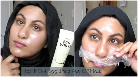 Kb Masker Telur Egg White Mask Peel Masker Putih Telur Masker test it out mistine egg white peel mask ambreen k